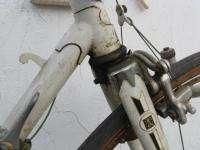 Peugeot UO8 lugged steel road bike bicycle 57cm Simplex Prestige white