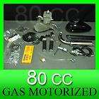 80cc motor gas bicycle bike engine motorized kit power by air outdoor