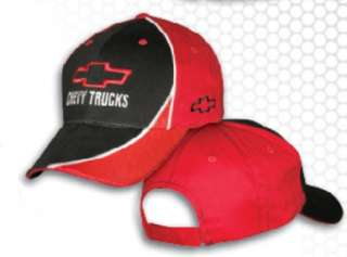 Chevrolet Chevy Trucks Bow Tie Hat Cap Black/Red NWT