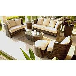 Soho Five piece Wicker Patio Furniture Set