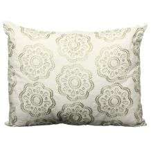 Steve Madden Cory White Decorative Pillow