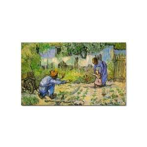 First Steps By Vincent Van Gogh Sticker: Everything Else