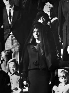 During Funeral of President John F. Kennedy Premium Photographic Print