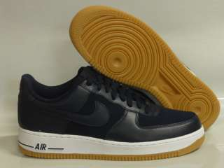 Nike Air Force 1 Blue White Gum Sneakers Mens Size 17