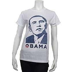 Art Barack Obama Yes We Can Womens Speech T shirt