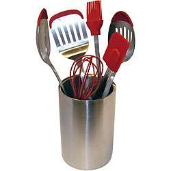 Le Chef Deluxe 7 piece Kitchen Canister and Utensil Set