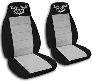 nice set heartagram CAR SEAT COVERS 8 COLORS CHOOSE