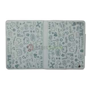 Cute Little Witch Leather Smart Case Cover Stand for iPad 2