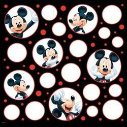 New Sandylion Scrapbook Sheets Mickey Mouse 12X12 DISNEY PAPER