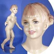 Brand New 513N Flesh Tone Full Size Boy Mannequin