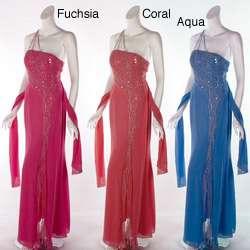Aspeed Design Womens Single shoulder Dress  Overstock