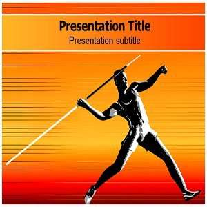 Javelin Game (PPT) Powerpoint Template   Javelin Game