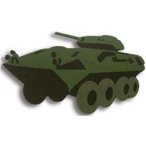 Marines Laser Cut Equipment lav 25 Tank: Arts, Crafts & Sewing