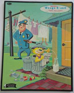 Hanna Barbera 1961 Top Cat Frame Tray Puzzle Newspaper
