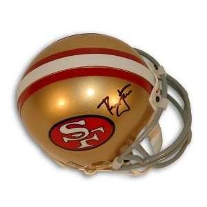 Autographed Ronnie Lott San Francisco 49ers Mini Helmet
