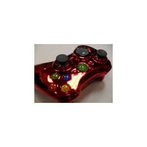 Red Xbox 360 Modded Controller with Rapid Fire COD MW2 Video Games