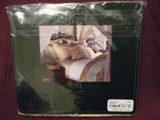 RALPH LAUREN Coco Palm Jacquard QUEEN Flat Sheet NIP