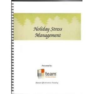 Holiday Stress Management Team Books