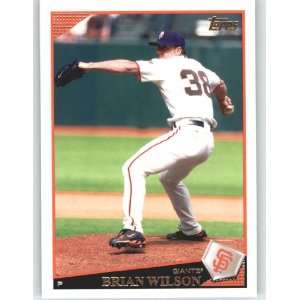 2009 Topps #463 Brian Wilson   San Francisco Giants