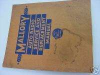 Vintage 1932 35 Auto Car Radio Installation Manual CD
