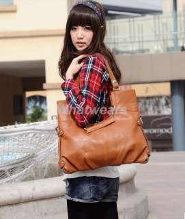 Shapes PU leather Lady Hobo Tote Clutch Womens Handbag Bags 10 276