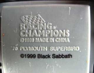 BLACK SABBATH OZZY 1970 PLYMOUTH SUPERBIRD CAR #21