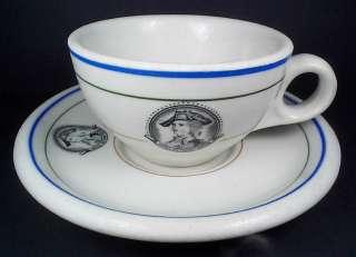 Anthony Wayne Hotel   Hamilton Ohio   1927 China Cup & Saucer Set