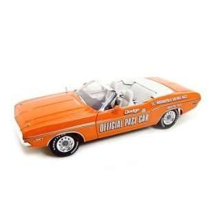 1971 Dodge Challenger Indy Pace Car 118 Diecast Model Toys & Games