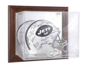 New York Jets Wall Mounted Full Size Helmet Case