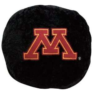 Gophers 14 Team Logo Hockey Puck Plush Pillow: Sports & Outdoors