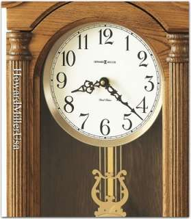 Howard Miller oak chiming wall clocks  625 282 Amanda