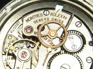 MANS GENUINE VINTAGE S/STEEL ROLEX OYSTER ROYAL PRECISION WATCH c1959