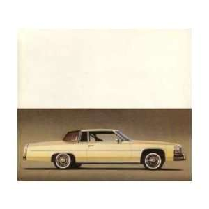 1980 CADILLAC COUPE DEVILLE Mailer to Test Drive