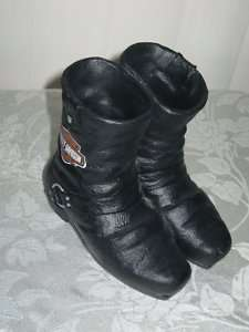 Harley Davidson Motorcycle Boots figurine/Planter