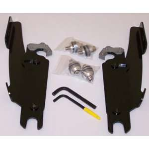 Memphis Shades Trigger Lock Mount Kit for Batwing Fairing