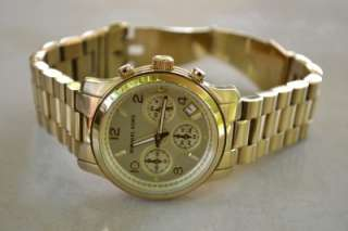 Michael Kors Gold Tone Womens Watch MK5055 #21