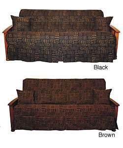 Kenya Skirted Futon Slipcover Set