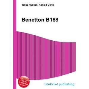 Benetton B188 Ronald Cohn Jesse Russell Books