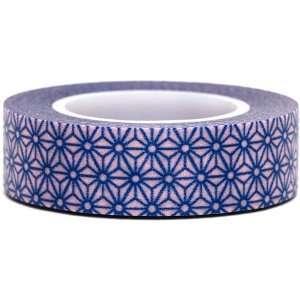 pink Washi Masking Tape deco tape blue flowers Toys