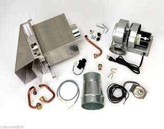 Bosch AQ4 Tankless Water Heater Sidewall Power Vent Kit