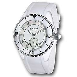 Haurex Italy Womens Riviera White Mother of Pearl Dial Watch