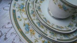 SANGO FOUR CROWN CHINA BARCLAY DISH SET FOR 12 60PCS!