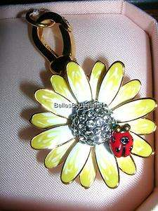 New JUICY COUTURE DAISY WITH LADY BUG CHARM NIB w/Tags