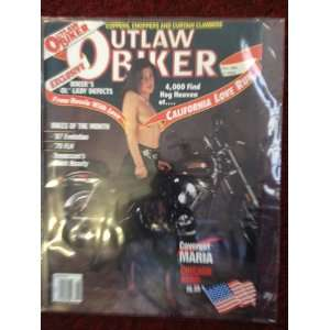 OUTLAW BIKER MAGAZINE   MAY 1989 ISSUE: OUTLAW BIKER: Books