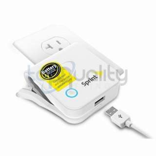 OEM Sprint Travel Charger PLUS for HTC Evo 4G 3D Shift Design Battery