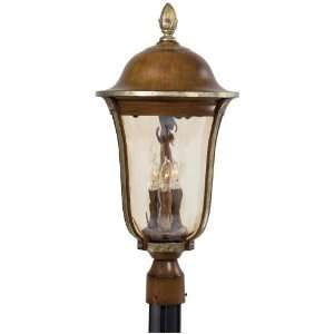 Montanero Collection 25 1/2 High Post Mount Outdoor Light
