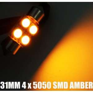 31mm 35mm 3175 Trunk Interior LED Light Bulb Yellow SMD
