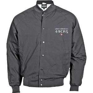 Reebok San Francisco 49ers Big & Tall Poplin Jacket