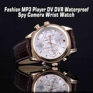 Hot  Player DV DVR Waterproof Spy Camera Wrist Watch