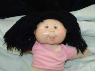 BIG 2004 Cabbage Patch Kids Doll Black Hair Brown Eyes |